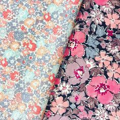 New in stock 💜🌸 Michelle C and Gemma C 🌸💜 Plus a whole lot of Liberty Classics back in the shop, what a happy Monday we are having 🙃👍🏻 . . . . #thestrawberrythief#libertyfabric#libertytanalawn#libertyartfabrics#loveliberty#fabric#sewing#crafty#libertyclassics#bundle#peachandpink#pink#purple#quilt#patchwork#quilting#sewgood#floral#flowers#liberty