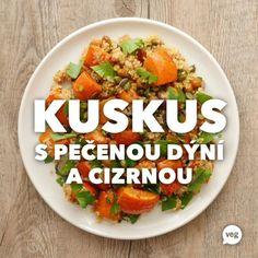 """Country Life BIO on Instagram: """"Luxusní podzimní recept 🍂 Kuskus, dýně, cizrna, dýňová semínka v kombinaci s rozinkami a vyladěnou zálivkou. Co vy na to? Vyzkoušíte? 😉 .…"""" Couscous, Cantaloupe, Fruit, Country, Ethnic Recipes, Instagram, Food, Rural Area, Essen"""