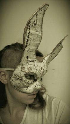 Make you own #Bioshock Splicer Bunny Mask. #DIY #cosplay