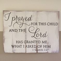 This Bible verse reminds me of my two greatest blessings: my children. This would look great displayed in your childs room or among some family