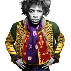 Jimi Hendrix by Gered Mankowitz