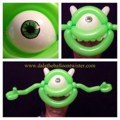 Monster hairband/mask inspired by Alberto Nava.