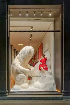 "DOLCE&GABBANA, Milan, Italy, ""Run Francesca...........Run"", pinned by Ton van der Veer"