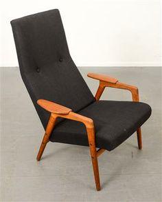Yngve Ekström. chair in teak. Made by Swedese.