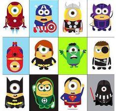 Minion Superheroes :)