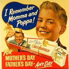 Because this perception is often promulgated by the tobacco industry, it is no surprise that many tobacco advertisements took advantage of Father s Day. Description from tobacco.stanford.edu. I searched for this on bing.com/images