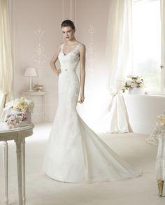 Brautkleid Dabria aus der White One Brautmoden Kollektion 2015 :: bridal dress from the 2015 collection by white one.