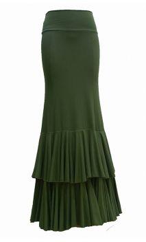 Skirts (3) - fabricaflamenca.com Flamenco Costume, Flamenco Skirt, Ankara Skirt And Blouse, Dress Skirt, Dance Outfits, Skirt Outfits, Skirt Fashion, Fashion Outfits, Frill Skirts