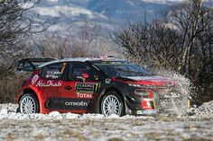 British driver Kris Meeke makes his full time return to the FIA World Rally Championship with the Citroën Total Abu Dhabi WRT team at Rallye Monte Carlo 2017. #rallyemontecarlo