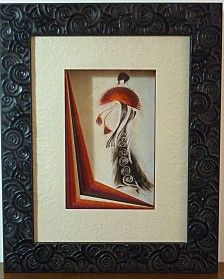 DIY Un drapé ouvert http://www.avecpassion.fr/853-encadrement-cartonnage