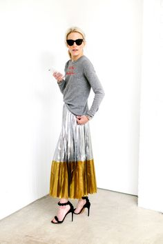 50+ Ways To Style a Pleated Skirt – Closetful of Clothes