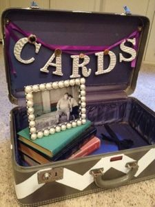 would love to have a suitcase for something like this---we could read the cards while on the honeymoon!