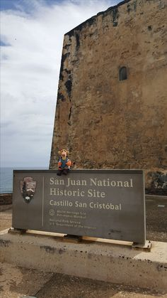 These high walls helped to defend San Juan for nearly three centuries! It is an impressive place to visit and learn! San Juan Puerto Rico, High Walls, Out To Sea, Great View, Historical Sites, Tigger, Places To Visit, Castle, World