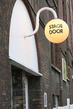 Old Vic Theatre, Waterloo Exterior Stage Door