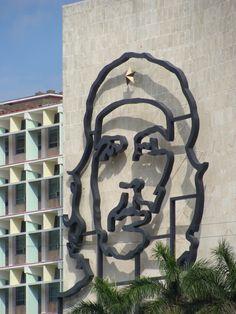 Che Guevara. Plaza de Revolucion. Havana, Cuba