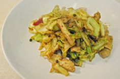 Human Cat: Sunday Recipe - Fried Pork With Cabbage #food #recipe