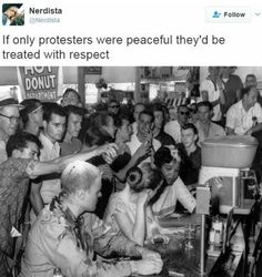People who like the status quo will never be happy with ANY sort of protest.