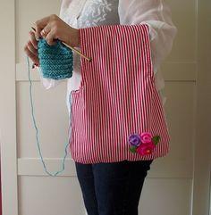 Bolso de mano bolso de proyecto para tejer por LiliaCraftParty