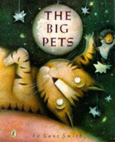 """Pets as big as a child's imagination--a cat that flies, a hamster big enough to ride, and a snake that becomes a jungle gym are some of the animals in this colorful book. """"Pet owners of all ages will enjoy Smith's playful and sweetly oddball visions of animal-human friendship"""".--Booklist. American Bookseller """"Pick of the Lists; """" Society of Illustrators' Silver Medal. Full color. 4-8."""