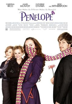 Penelope.  Love James McAvoy in this. I love this movie!