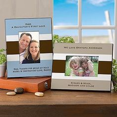 Personalized Picture Frames for Men - You Name It - 10370