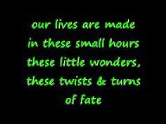Rob Thomas-:) Little Wonders (Lyrics)