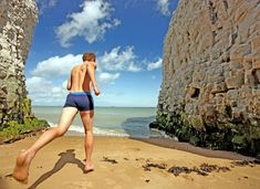 20 Best Hidden Beaches from Britain's Hidden Coast Sea Cave, Botany Bay, Hidden Beach, North Devon, Turquoise Water, Kayaking, Broadstairs Kent, Grand Canyon, Britain