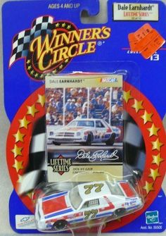 NASCAR - Winner's Circle - Dale Earnhardt Lifetime Series - 13 of 13 - No. 77 - 1976 Hy-Gain Chevrolet Malibu - 1:64 Die Cast Replica Car and Collector Card by Hasbro. $9.98