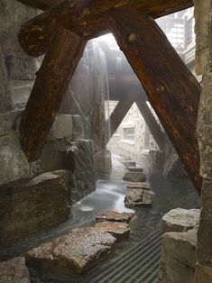 Waterfall Moat - eclectic - landscape - minneapolis - Billy Beson Company