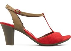 Camper red sandals Diana. Summer is coming!!