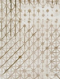 hand-painted Silmarillion Gold wallcovering