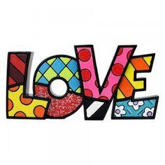 WORD FIGURINE - LOVE