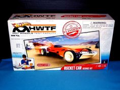 New Old Stock Hot Wheels Test Facility Exclusive Boxed Rocket Car Science Kit  #HotWheels