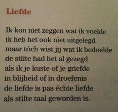 Gedicht 'Liefde' van Toon Hermans