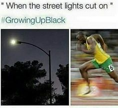 Pintrest: Keishaheno -I was almost always inside so this shit never happened to me lol- Funny Relatable Memes, Funny Tweets, Funny Jokes, Hilarious, Funny As Hell, The Funny, Growing Up Black Memes, Funny Black People Memes, Black Girl Problems