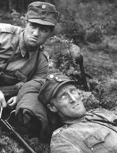 Veikko Sinisalo and Åke… Finland, Retro Vintage, Unknown Soldier, War, Actresses, Dance, Actors, History, Film