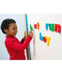 Take a look at this Alphabet & Math Magnet Set by Educational Insights on zulily today!