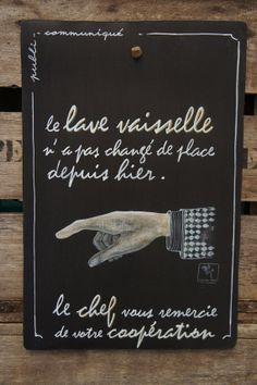 A bon entendeur ! Lol, French Quotes, Just Smile, Positive Attitude, Etiquette, Words Quotes, Cool Words, Chalkboard, Like4like