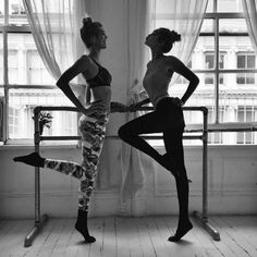 Gigi Hadid, Ballet - This Victoria Secret model gets fit by dancing with friends, making it the perfect workout for a lean dancer body but also the perfect situation to use the twin dancers emoji for your accompanying pre-workout 'gram.