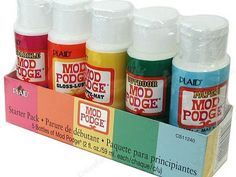 mod podge!!!---hard to find outdoot