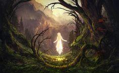 The Sleeping Green - The Awakening, Julian Bauer on ArtStation at https://www.artstation.com/artwork/0OGEG
