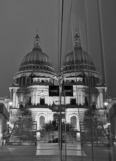 City Fine Art Photo: Second Guess God. St. Paul's Cathedral, London, City, Photography. by LongExposureLondon on Etsy