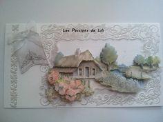 """Carte 3D """"country house"""" de Staf Wesenbeek"""