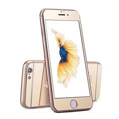 Apple iPhone 6 Plus, 6s Plus Mirror Spiegel Panzerglas Folie rundum Schutz Screen Protector echt Glas verspiegelt in gold von PhoneStar https://www.amazon.de/dp/B01JZFIOX0/ref=cm_sw_r_pi_dp_x_ICihyb725W7C7 #gold #beaphonestar #goldeneye #mirror #mirrorstyle #spiegelfolie #fashionaddict #chic