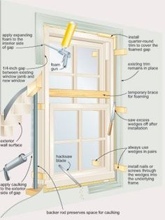 """""""Install Your Own Windows"""" Reduce the cost of new windows by putting them in yourself."""