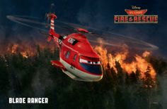 "Disney's ""Planes: Fire & Rescue"" (2014) - Blade Ranger #Disney #Planes #BladeRanger"