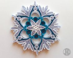 Nature Friendly Quilled Paper Decorations by JeAdoreQuilling Arte Quilling, Paper Quilling Designs, Quilling Paper Craft, Quilling Patterns, Paper Crafts, Quilling Comb, Quilling Ideas, Handmade Ornaments, Handmade Christmas