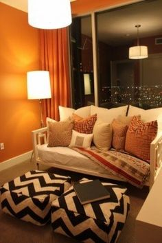 Cute and cozy apartment furniture!