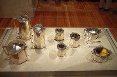Tea and Coffee Service for the Imperial Hotel, Tokyo  Artist: Frank Lloyd Wright  1916-1922