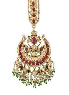Satyanarayan J Jadia & Sons Jewellers Pvt Ltd Tikka Jewelry, Indian Jewelry Earrings, Headpiece Jewelry, India Jewelry, Temple Jewellery, Wedding Jewelry, Jewelery, Jewellry Box, Silver Jewelry